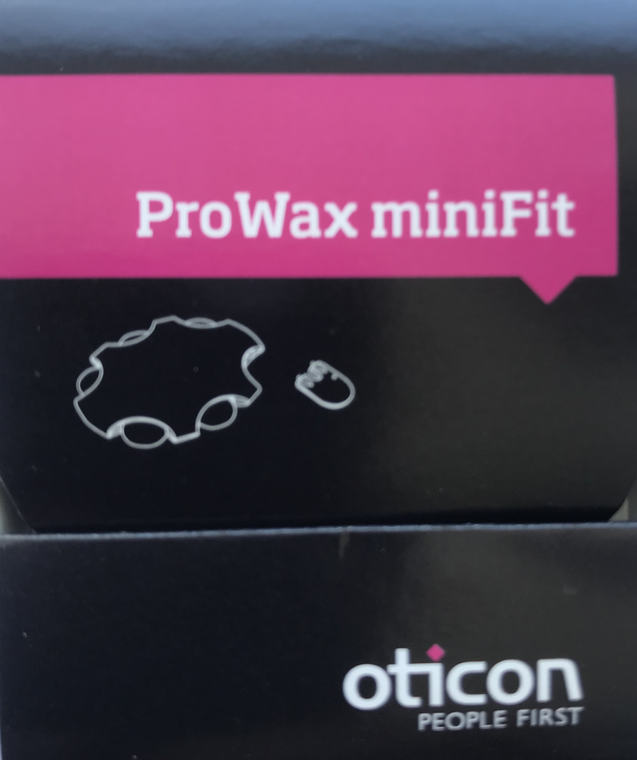 Cerumenfilter Oticon Prowax Minifit